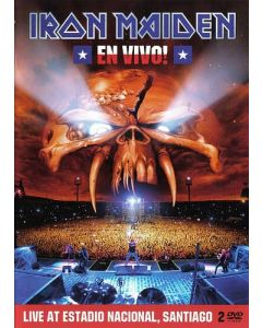 IRON MAIDEN - En Vivo! / 2-DVD