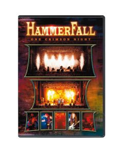 28208 hammerfall one crimson night dvd heavy metal