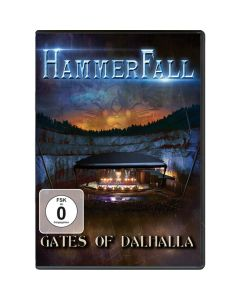 28245 hammerfall gates of dalhalla dvd heavy metal