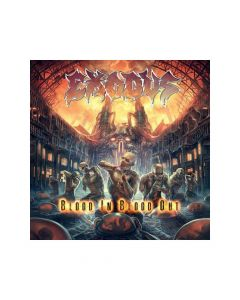 28385 exodus blood in, blood out cd thrash metal