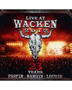 Live At Wacken 2012 - 23 Years (Faster:Harder:Louder) / 2-CD