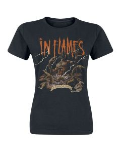 IN FLAMES - Aquarius / Girlie Shirt