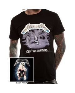 metallica ride the lightning t shirt