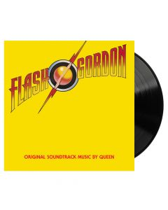 QUEEN - Flash Gordon (Original Soundtrack Music) / BLACK LP Re-Issue