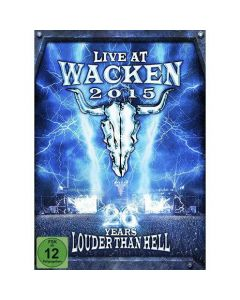 Live At Wacken 2015 - 26 Years Louder Than Hell / 2-DVD + 2-CD