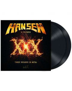 XXX - Three Decades In Metal / BLACK 2-LP Gatefold