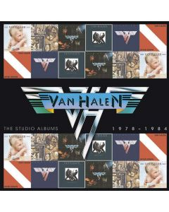VAN HALEN - The Studiio Albums 1978 - 1984 / 6-CD BOX