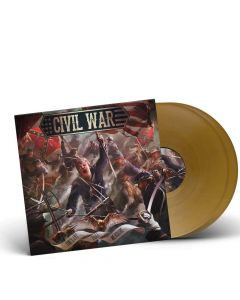 CIVIL WAR - The Last Full Measure / GOLDEN 2-LP Gatefold