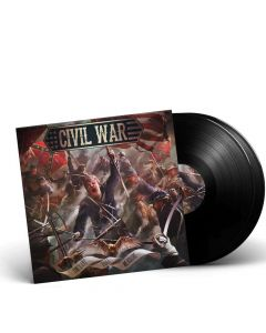 CIVIL WAR - The Last Full Measure / BLACK 2-LP Gatefold