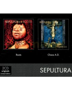SEPULTURA - 2-CD Originals - Roots + Chaos A.D. / 2-CD Slipcase