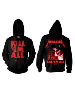 Metallica - Kill Em All Zip Hood Black
