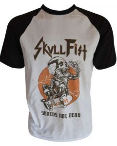 SKULL FIST - Shreds Not Dead / Baseball T-Shirt
