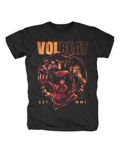 32558 volbeat circle of death t-shirt
