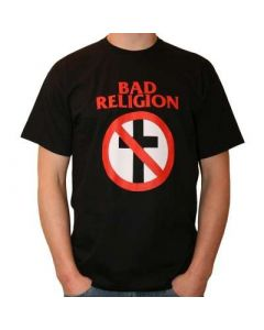 BAD RELGION - Cross Buster - BLACK / T-Shirt
