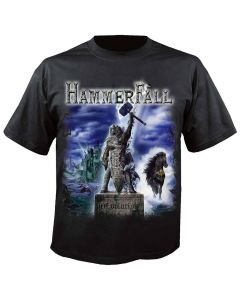 33054-1 hammerfall winter (r)evolution 2015-2016 t-shirt