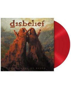 DISBELIEF - The Symbol Of Death / RED LP