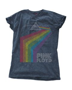 PINK FLOYD - Prism Arch Snow Washed / Girlie Shirt