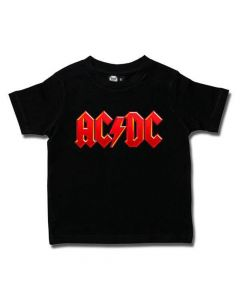 33816 ac_dc logo black kids t-shirt