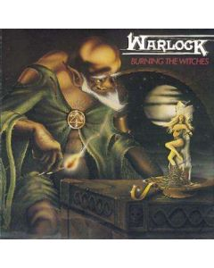 WARLOCK - Burning The Witches / CD