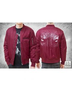 SATYRICON - Wolf / BORDEAUX Bomber Jacket