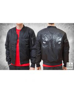 SATYRICON - Wolf / BLACK Bomber Jacket