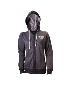 JACK DANIEL'S - Old No.7 / GREY Girlie ZIP