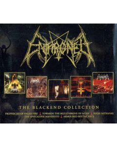 ENTHRONED - Blackened Years / 4-CD BOX