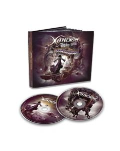 40334-1 xandria theater of dimensions mediabook 2-cd symphonic metal
