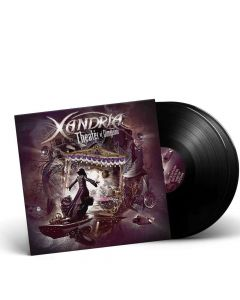 40338-1 xandria theater of dimensions black 2-lp symphonic metal