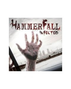 40970 hammerfall infected cd heavy metal