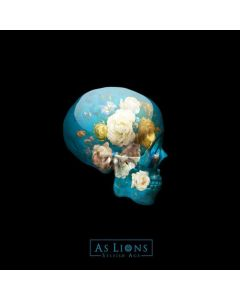 AS LIONS - Selfish Age / BLACK LP