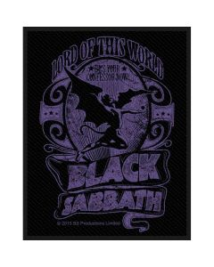 Black Sabbath Lord Of This World Patch