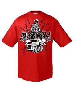 alestorm bacon powered pirate core shirt