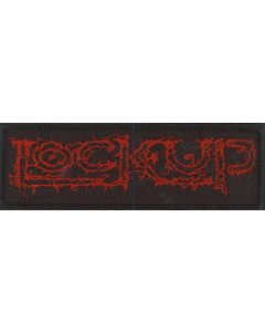 LOCK UP - Red Logo / Patch