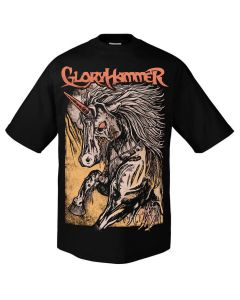 gloryhammer zombie unicorn shirt
