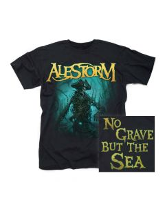 alestorm no grave but the sea t shirt