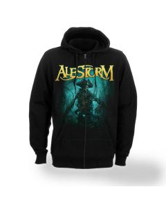 alestorm no grave but the sea zip hoodie