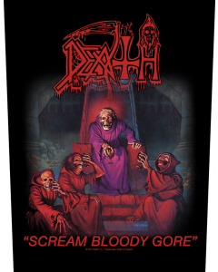 DEATH - Scream Bloody Gore / Backpatch