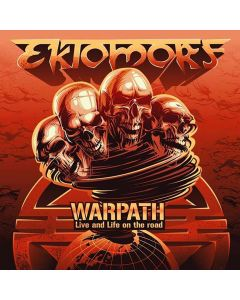 43478 ektomorf warpath cd and dvd thrash metal