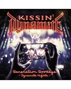 KISSIN' DYNAMITE - Generation Goodbye - Dynamite Nights / Digipak BLU-RAY + 2-CD