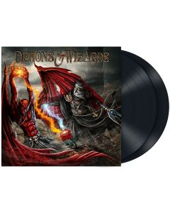 demons & wizards touched by the crimson king black 2-lp gatefold