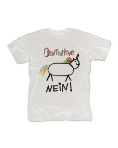 HEAVY METAL HAPPINESS - Devinitive Nein! / WHITE T-Shirt