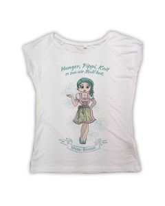 Heidi / WEISSES Girlie Shirt