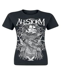 alestorm plunder with thunder girlie shirt