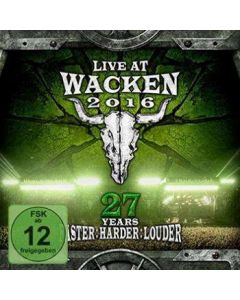 Live At Wacken 2016 - 27 Years Faster Louder Harder / Digipak 2-BLU-RAY + 2-CD