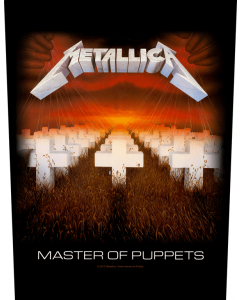 METALLICA - Master Of Puppets / Backpatch