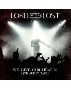 45084 lord of the lost we give our hearts (live auf st. pauli) digipak 2-cd gothic metal