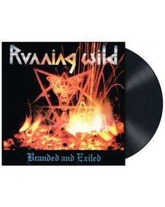 RUNNING WILD - Branded And Exiled / BLACK LP