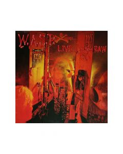 45217 w.a.s.p. live... in the raw black 2-lp heavy metal
