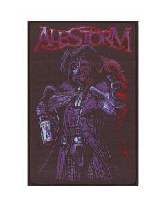 alestorm rum pirate patch